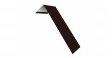 Металлические доборные элементы для фасада в Екатеринбурге Планка лобовая/околооконная простая 190х50